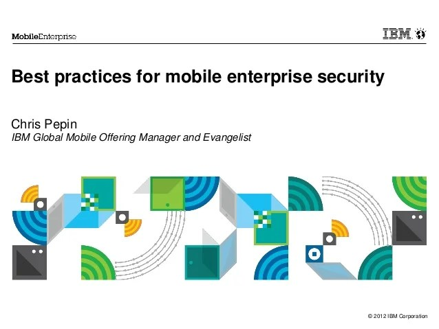 Mobile Security Slideshare