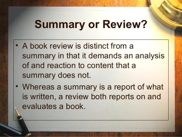 how to write a book review # 39
