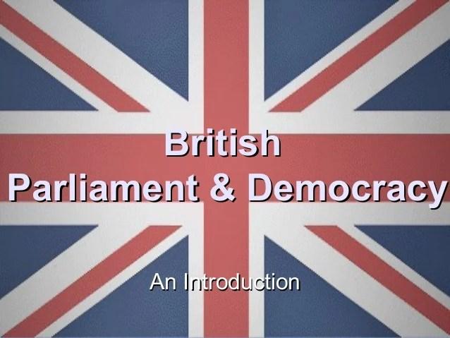 Democracy Symbol Parliamentary