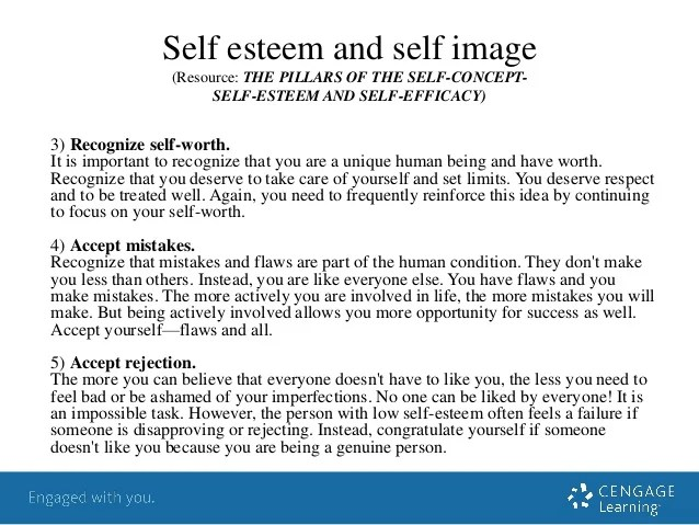 Self Awareness Areas Improvement
