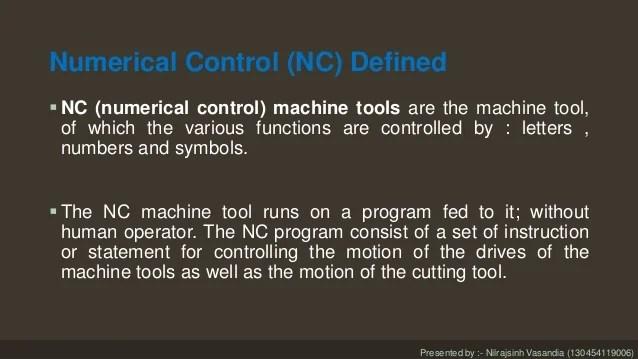 Nc Cnc Amp Dnc Machine