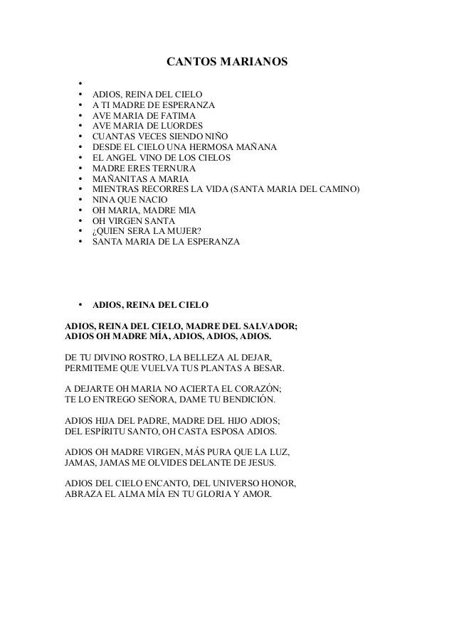 Cantos La Guadalupana