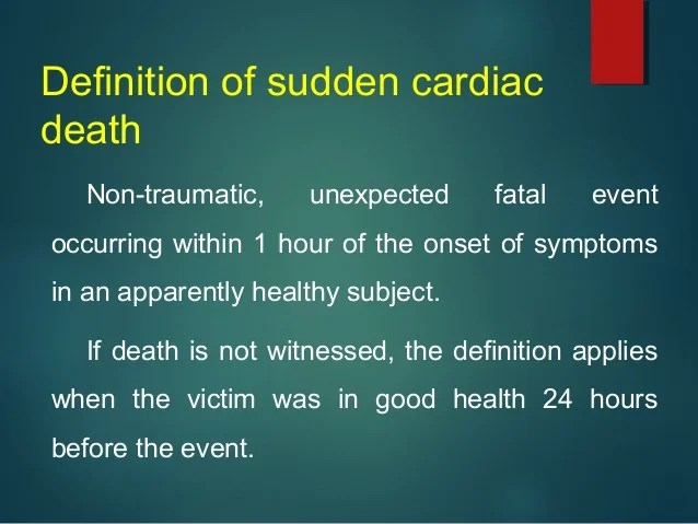 update on sudden cardiac death in athletes and young ...