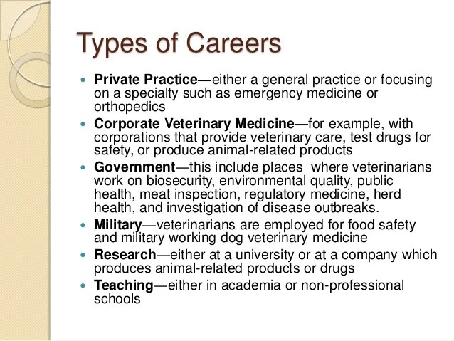 Private Military Careers