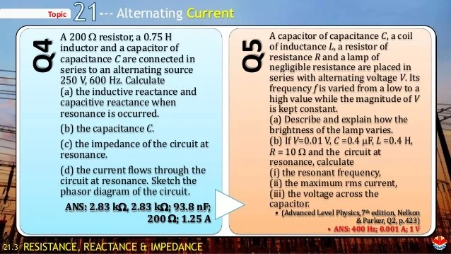 Ch 21 Alternating Current