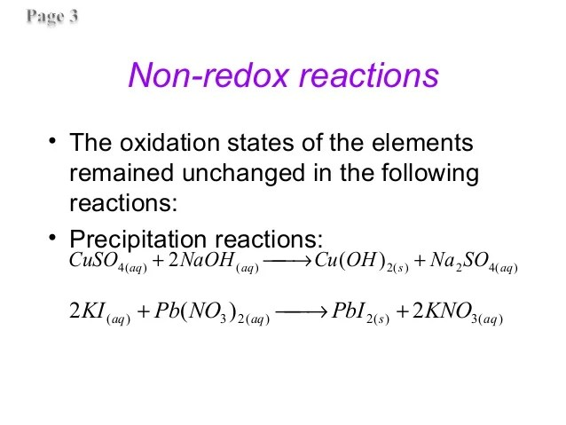 Which Following Are Decomposition Reactions