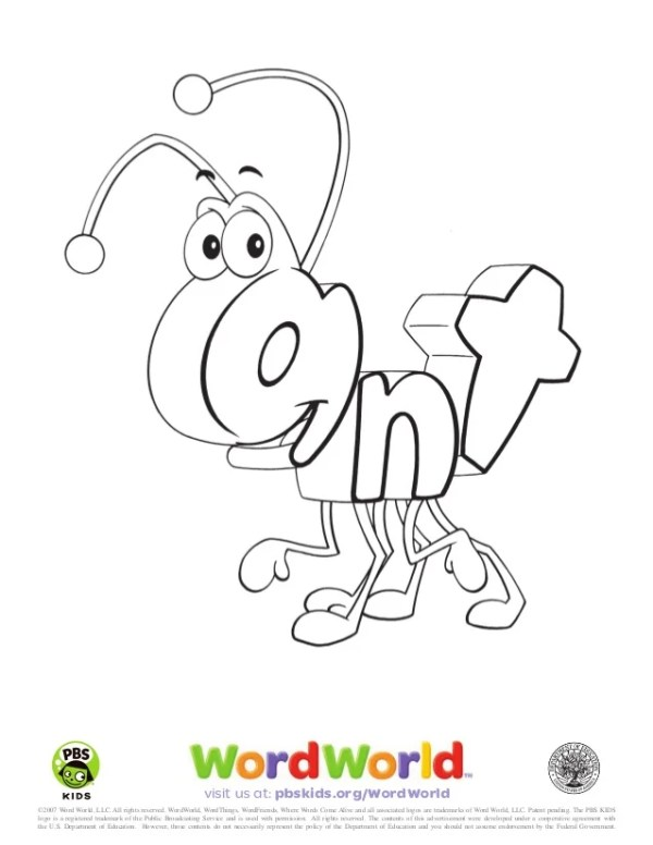 word world coloring pages # 0