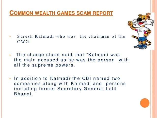 Common wealth games scam 2010 ppt prepared by K.Yesu Babu ...