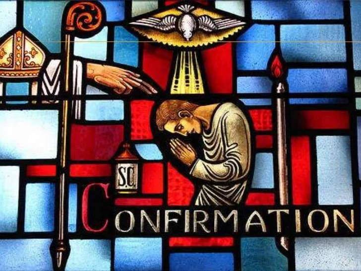 Sacrament Confirmation Symbols