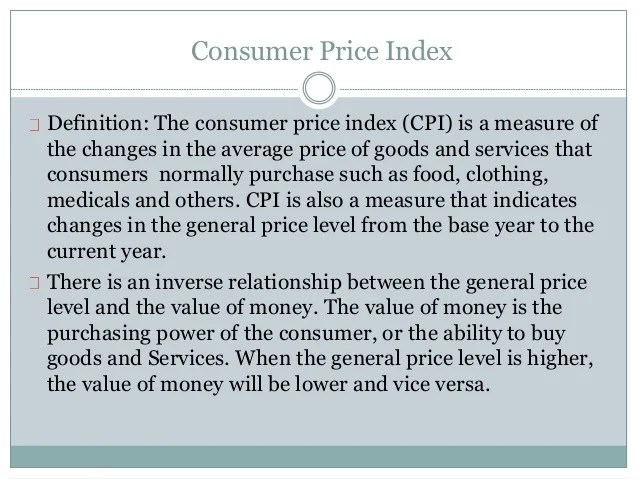Consumer Price Index