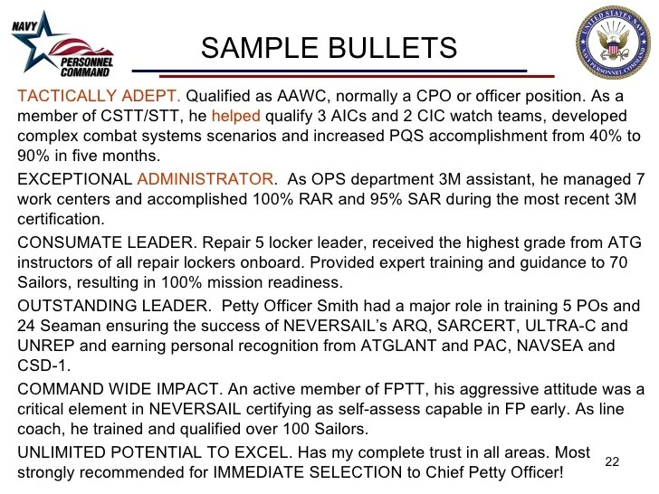 navy midterm bullets strengths weaknesses