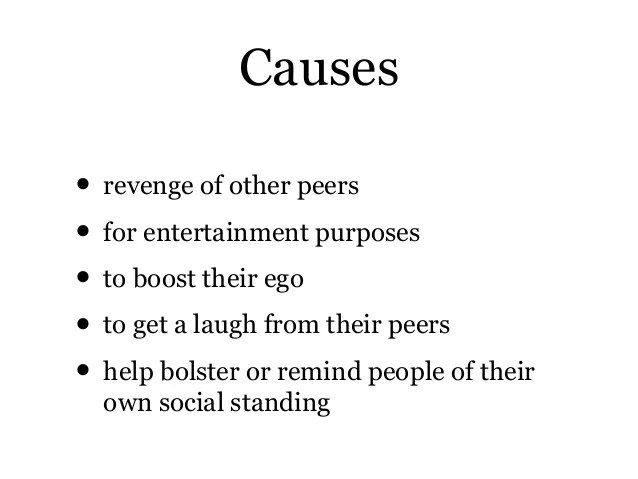 Laugh People What Causes