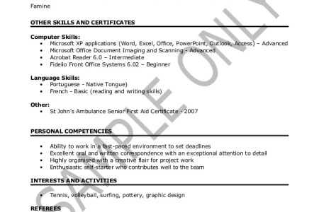 Resume Template 2018 » fice manager resumes sample job and resume ...