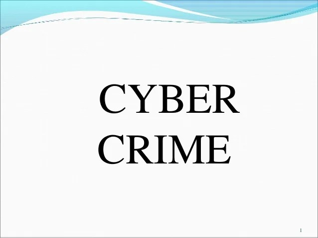 Cyber Crime Security Courses