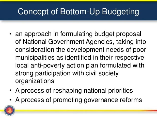 Davao Bottom Up Budgeting