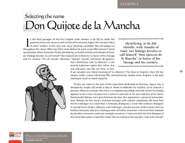 Chapter La De 1 Don Mancha Quijote