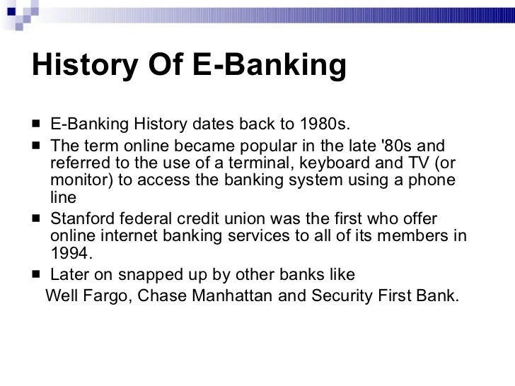 First Security Bank Online Banking