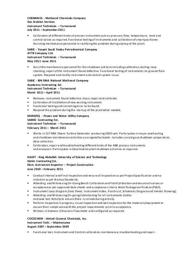Endoscopy Technician Resume Sample