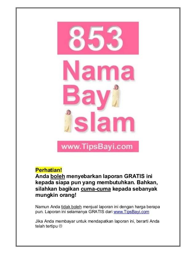 Nama Anak Dalam Islam Perempuan