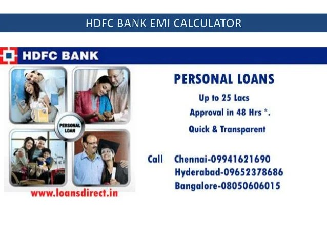 Citi Bank Personal Loan Emi Calculator