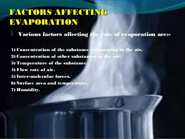Life Examples Daily Evaporation
