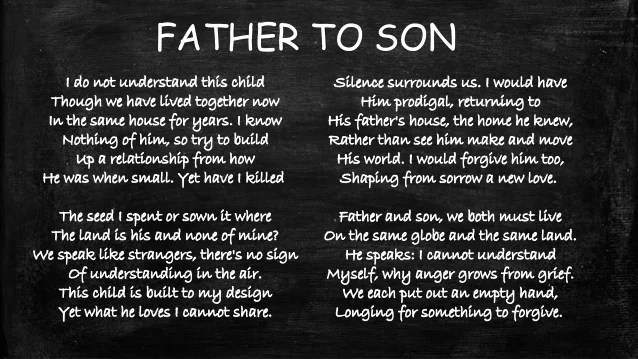 I Love Father My Child Quotes