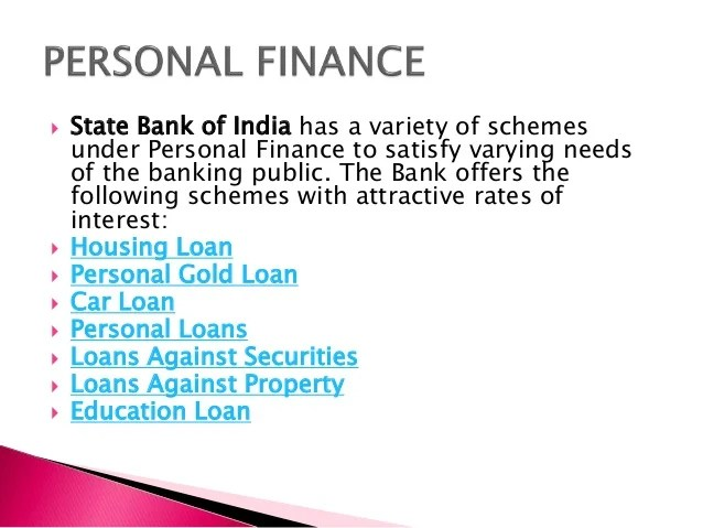 First Bank Personal Loan