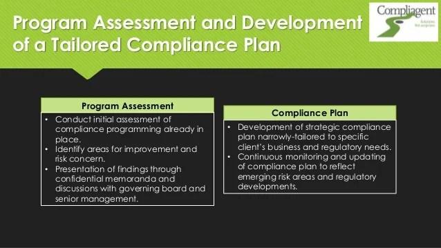 7 Elements Effective Compliance Program
