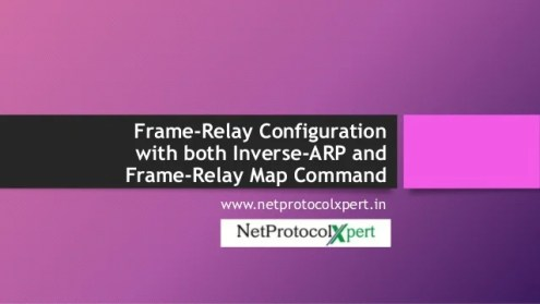 Frame Relay Configuration with both Inverse ARP and Frame Relay Map C    Frame Relay Configuration with both Inverse ARP and Frame Relay Map Command  www