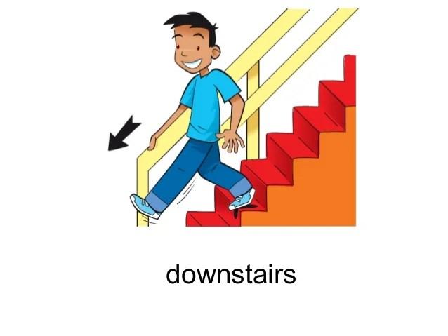 House Clip Down Run Art