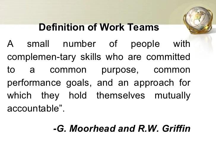 FOUNDATION OF GROUP BEHAVIOR AND UNDERSTANDING WORK TEAM