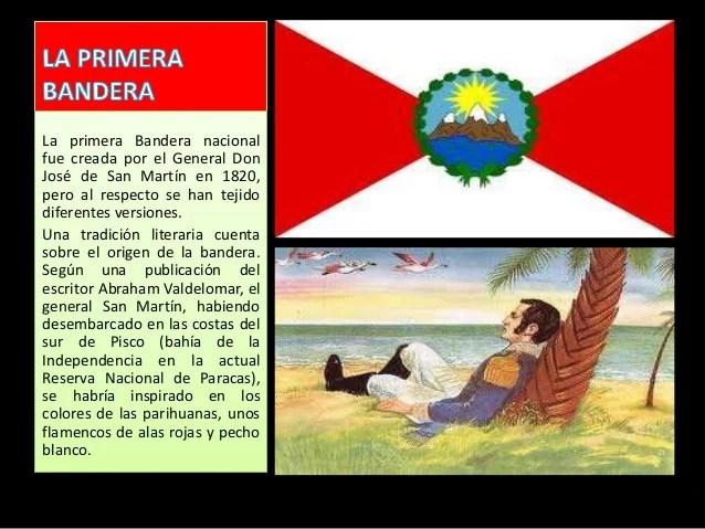 El Y Nacional El Peru Bandera Escudo Himno De La