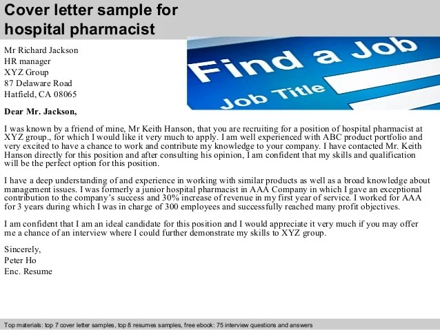You Letter Pharmacist Interview After Thank