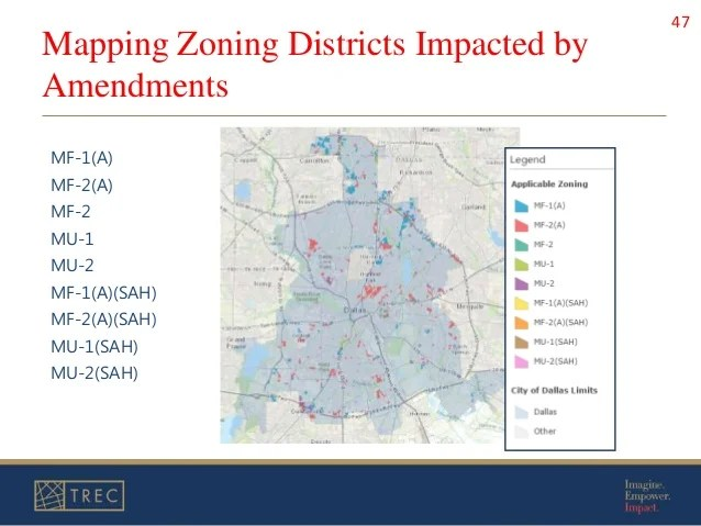 City Dallas Zoning Map