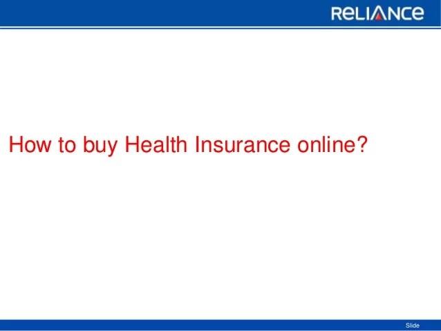 Buy Health Insurance Online