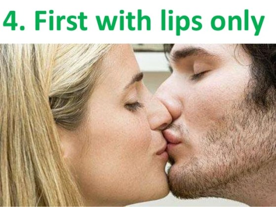 how can i kiss a girl for the first time