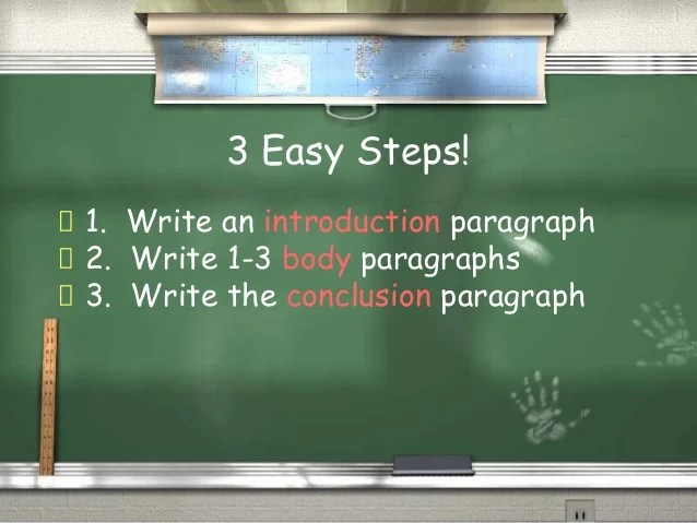 How to write an essay How to Write a Good Essay  2