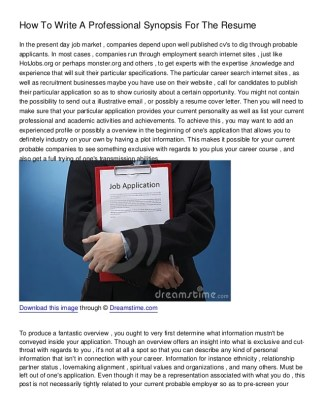 Free Resume Sample      how to write a professional resume   Resume Sample Download for free for commercial or non commercial projects  you re sure to  find something that suits your role and circumstances  How Write A Resume