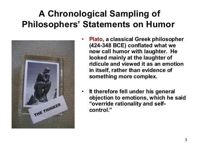 Philosophy Laughter And Humor