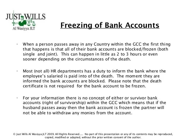 Estate Tax Joint Bank Accounts