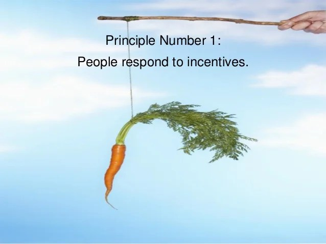Principles Economics Principle 1