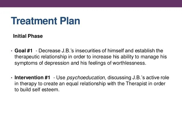 Family Therapy Treatment Plan Template