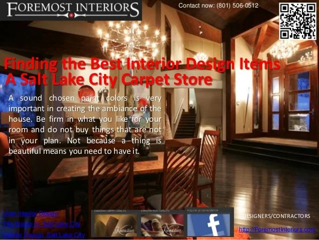 Best Interior Designers Salt Lake City