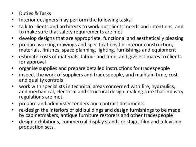 Qualification Required Interior Decorator