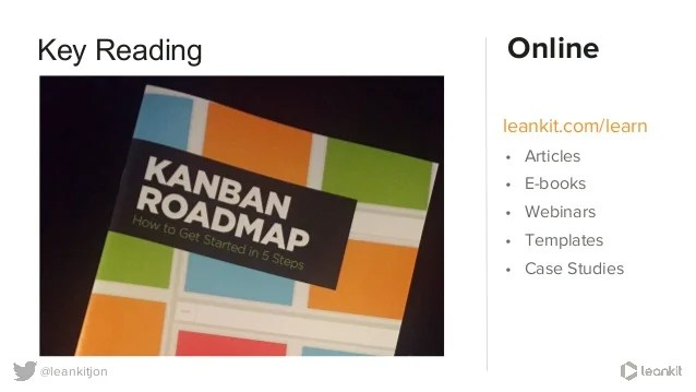 Kanban  An evolutionary approach to agility  using LeanKit images      37   leankitjon leankit com learn