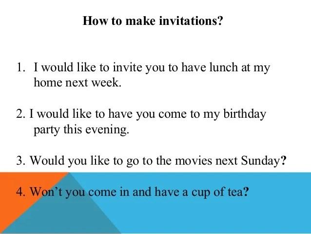 Birthday Invitations Reply