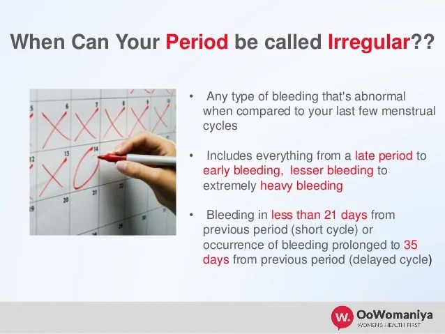 Menstrual Cycle How Count