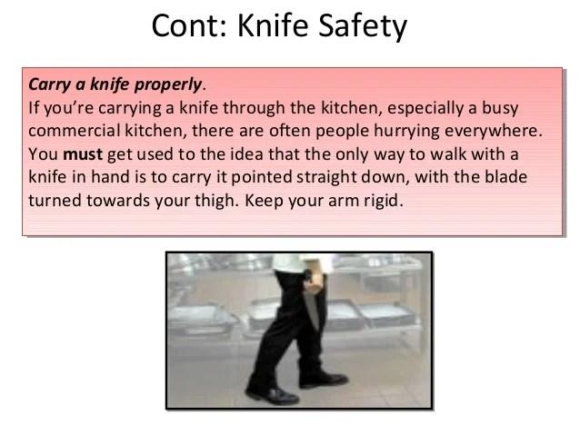 Kitchen Knife Straight Edge