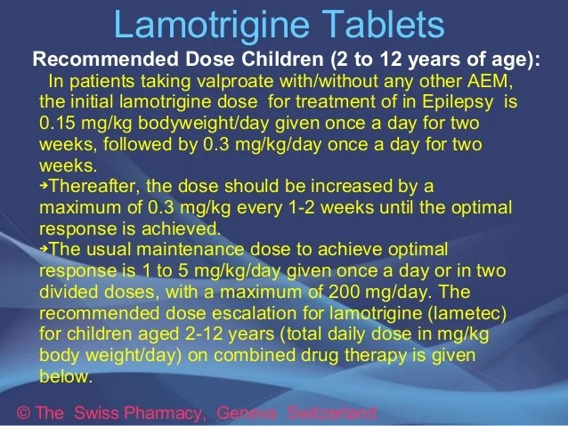 Lamotrigine Pictures Effects Rash Side