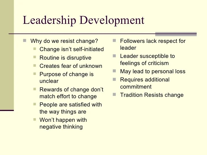 Leadership Skills And Self Improvement Pdf